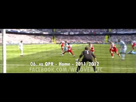 THE TOP 10: Sergio Aguero goals for Man City (2011-2013)