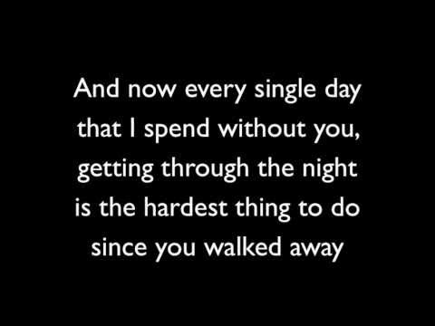 Never Should Have Let You Go - Simple Plan (Lyrics), Track 13 off Get Your Heart On!