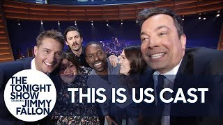Milo Ventimiglia Leads the Cast of This Is Us in the Big Three Chant