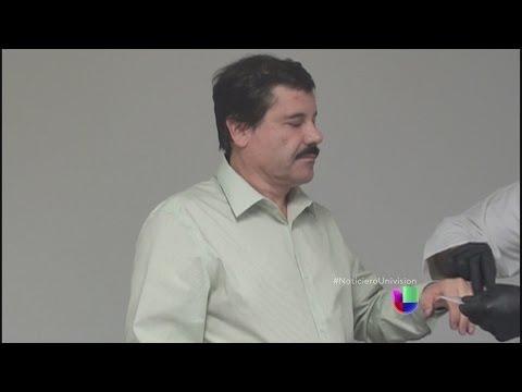 Joaquín El Chapo Guzmán habló con su esposa tras ser arrestado