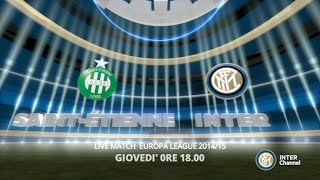 SEGUI LIVEMATCH ST. ETIENNE - INTER SU INTER CHANNEL