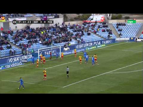 Getafe - Barcelona Highlights HD 22.12.2013