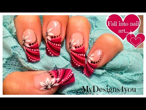 Pink & White Flower Abstract Prom Nail Art Design Tutorial - ♥ MyDesigns4You ♥, For all your beauty products visit http://www.bornprettystore.com/?ref=1487 Hello and welcome to my channel! !!SUBSCRIBE!! HAVE YOU SEEN topfloor.com yet? FI...