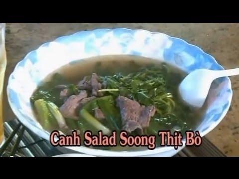Canh Salad Soong Thit Bo - Xuan Hong