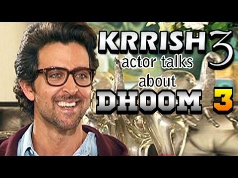 Krrish 3 - Hrithik Roshan talks about Aamir Khan's Dhoom 3