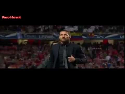 Diego Simeone vs Raphael Varane 2014 Real Madrid vs Atlético de Madrid finale vf Paco Herent