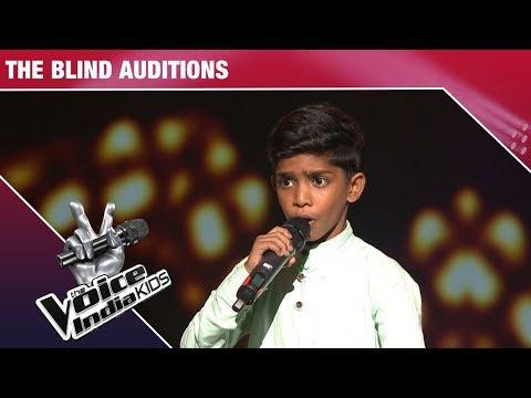 Faazil Performs on Haanikaarak Bapu - Episode 4 - Nov 19, 2017 - The Voice India Kids Season 2