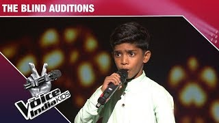 Faazil Performs on Haanikaarak Bapu - Episode 4 - Nov 19, 2017 - The Voice India Kids Season 2