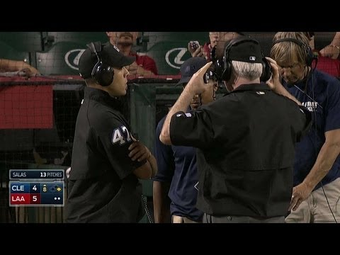 Out call at first stands after review in 8th