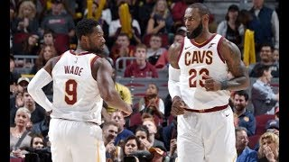LeBron James, Dwyane Wade, and Derrick Rose Show Out In The Preseason   October 10th, 2017