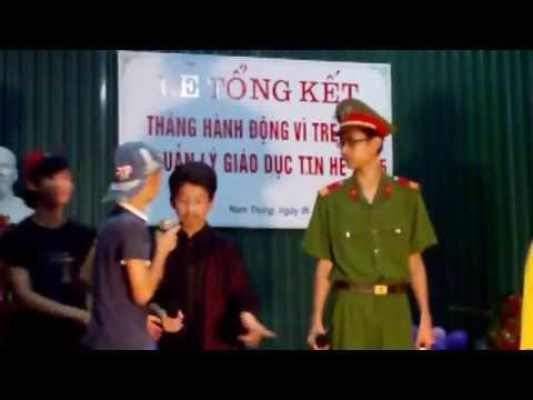 Kịch vui về an toàn giao thông-Thanh thiếu niên khu Nam trung