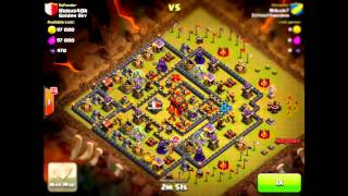 Amazing Hog Raids Destroying Maxed TH10 Bases In Clash Of