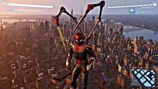 Spider-Man PS4 - Jumping Off Biggest Building In Avengers Stark Suit (Spiderman 2018) PS4 Pro