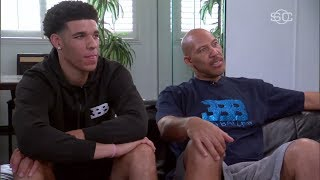 LaVar Ball Talks Lakers, Lonzo Almost Getting Arrested And His Wife's Condition | ESPN