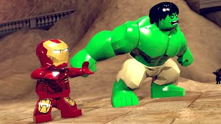 LEGO Marvel Super Heroes Walkthrough 1 Sand Central