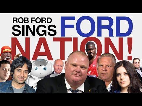 Rob Ford Sings