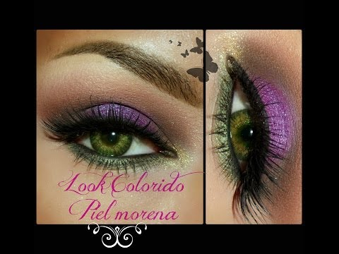 MAQUILLAJE COLORIDO / COLORFUL MAKEUP