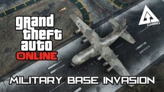 GTA 5 Online Titan Cargo Plane Gameplay A Military Base