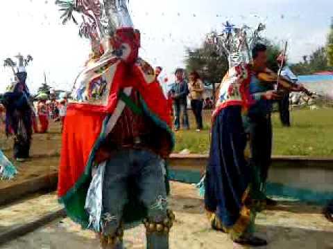danzas tradicionales de puebla (el triunfo chichiquila, puebla)