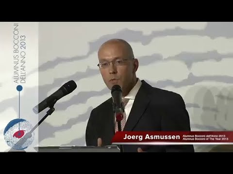 Joerg Asmussen - Bocconi Alumni Association: Alumnus Bocconi of the Year 2013