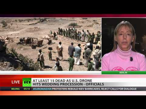 Medea Benjamin: Drone attacks help Al-Qaeda recruit members