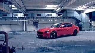"Maserati Quattroporte on 22"" Vossen VVS-CV1 Concave Wheels / Rims videos"