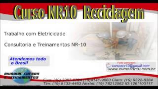 Curso NR10 Reciclagem Treinamento Reciclagem Nr10  - youtube