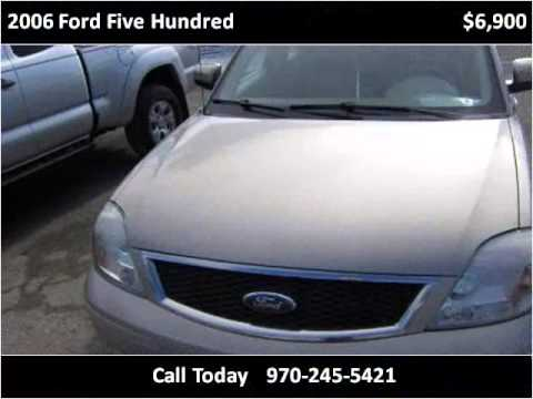 2006 Ford Five Hundred Used Cars Grand Junction CO