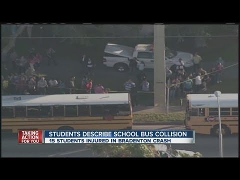 Bus Crash in Manatee County