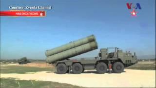 Máy bay bị bắn hạ, Nga đưa phi đạn phòng không đến Syria