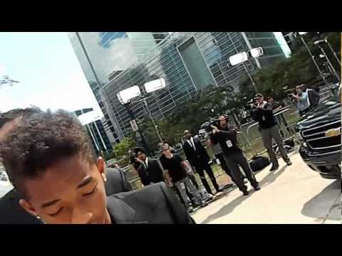 TIFF 2012 - MEETING WILLOW, JADEN & JADA PINKETT-SMITH