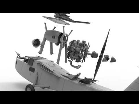 Airfix Supermarine Walrus Mk.I - 1:48 Scale Aviation Kit