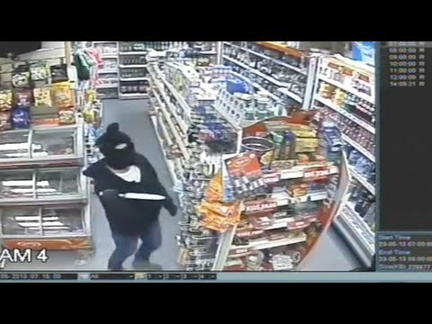 Knife-Wielding Robbers Turned in to Police by Mom