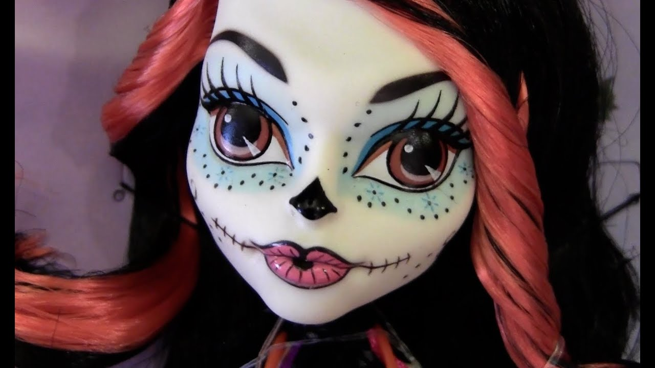 Skelita Calaveras Face Paint