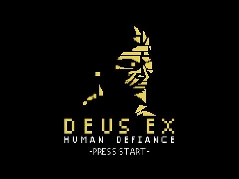 1 апреля — Deus Ex: Human Defiance оказалась 8-битной