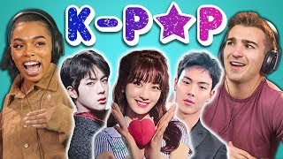 COLLEGE KIDS REACT TO K-POP (BTS, MONSTA X, SEVENTEEN, TWICE, Red Velvet)