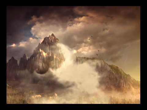 Landscape through the clouds - After Effects