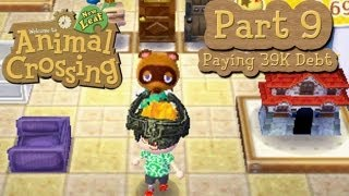 Animal Crossing: New Leaf Part 9: Paying Off 39K Debt