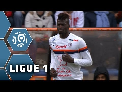 Goal Mbaye NIANG (56') - FC Lorient-Montpellier Hérault SC (4-4) - 20/04/14 - (FCL-MHSC)