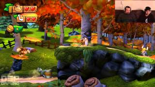 Donkey Kong Country Tropical Freeze co-op pt10: Stage 2-3