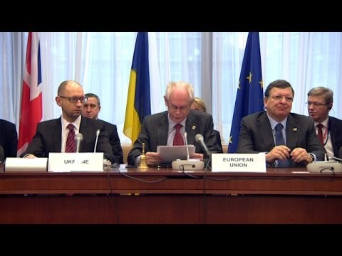 EU and Ukraine Sign Landmark Association Agreement