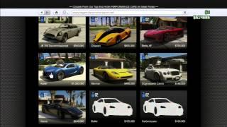 GTA Online: Comment Avoir Toutes Les Voitures GRATUITEMENT