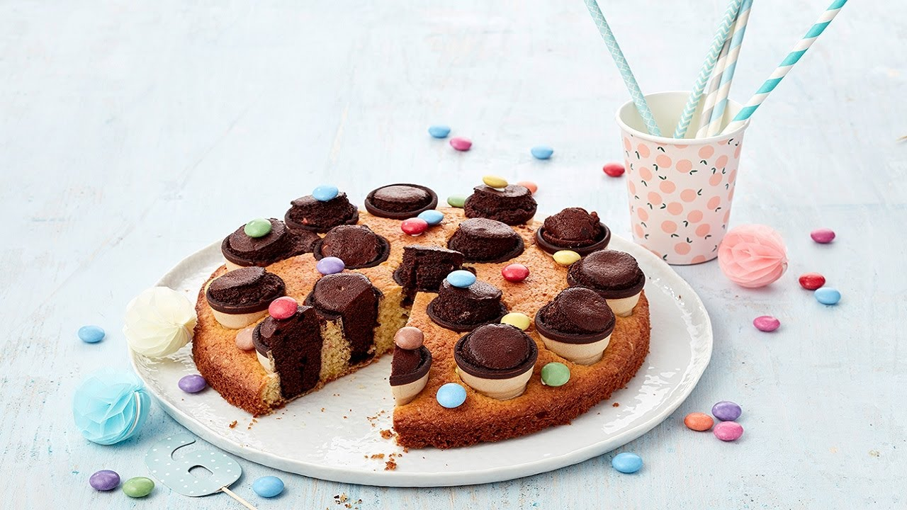 rezept kinder party kuchen von dr oetker youtube. Black Bedroom Furniture Sets. Home Design Ideas