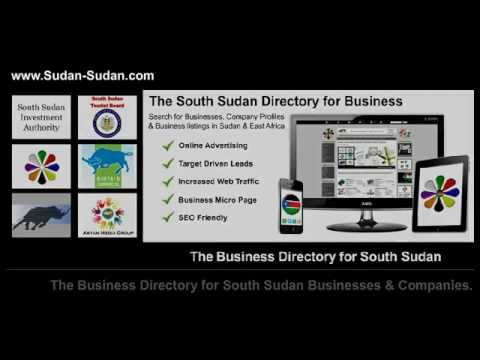 Sudan Business Directory, Business guide for for South Sudan and Sudan