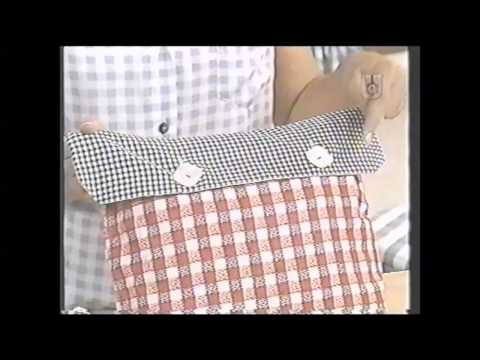 Puntos y Puntadas 467. Dos tipos de fundas para almohadones. María Rosa.