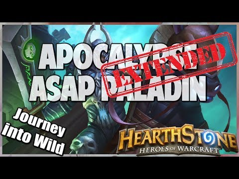 Apocalypse ASAP Paladin | Extended Gameplay | Hearthstone | Kobolds and Catacombs