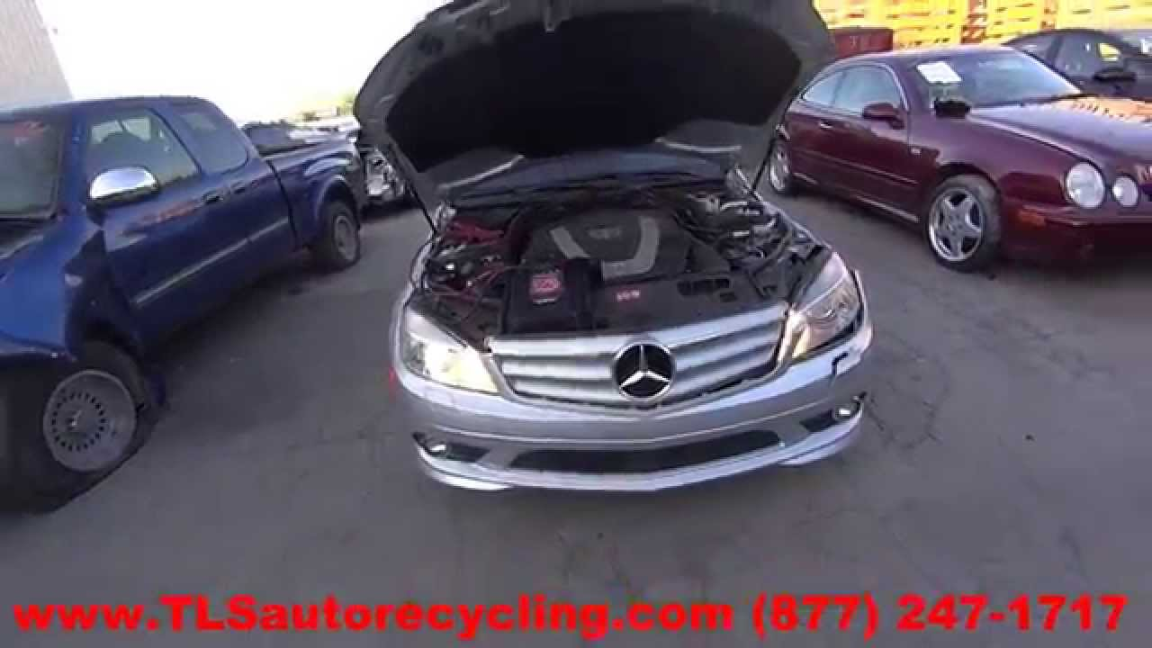 Parting Out 2010 Mercedes C300 Stock 5214rd Tls Auto Recycling Trunk Wire Wiring Harness R230 Sl500 Sl55 2003 03 2004 04