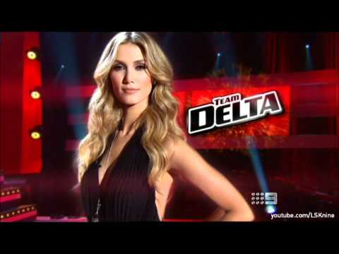 The Voice Australia 2012: TEAM DELTA - Channel 9 Promo