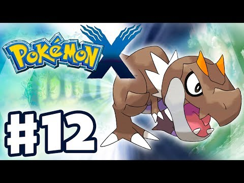 Pokemon X and Y - Gameplay Walkthrough Part 12 - Tyrunt the Jaws Fossil (Nintendo 3DS)