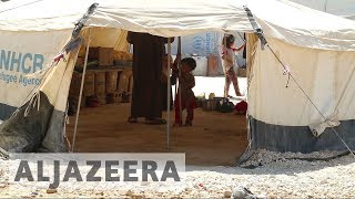 Poor conditions in Syrian camps awaits refugees